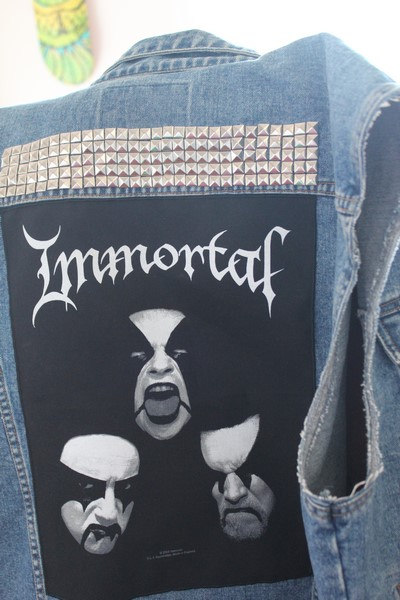 battle jacket immortal metal